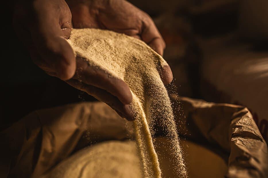 Carosella: la farina speciale