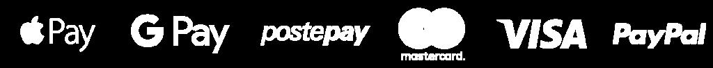 loghi Apple Pay gpay Postepay